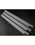 Scale blades for 600 size