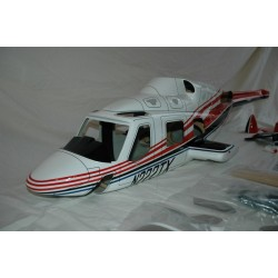 "Bell 222 ""Red"" FUNKEY 600 size"