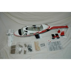 """Bell 222 """"Red"""" FUNKEY 600 size"""
