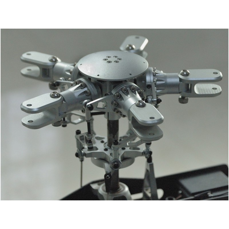 Scale 5 blades rotor head for 700