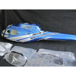 """AS-350 ECUREUIL (A-STAR) FUNKEY CLASSE 600 """"SILVER BLUE"""" EDITION DELUXE"""