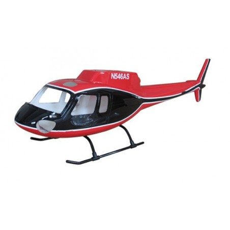 "AS-350 ""noir/blanc/rouge"" classe 450"