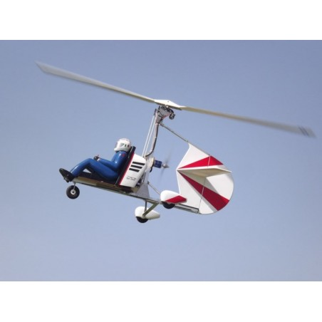 Autogire Gyro-One  Pilote