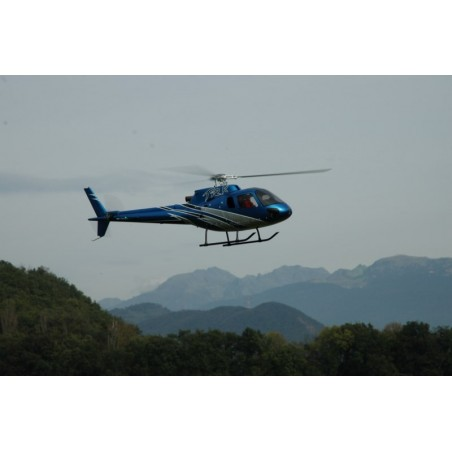 "AS-350 ECUREUIL (A-STAR) FUNKEY CLASSE 600 ""SILVER BLUE"" EDITION DELUXE"