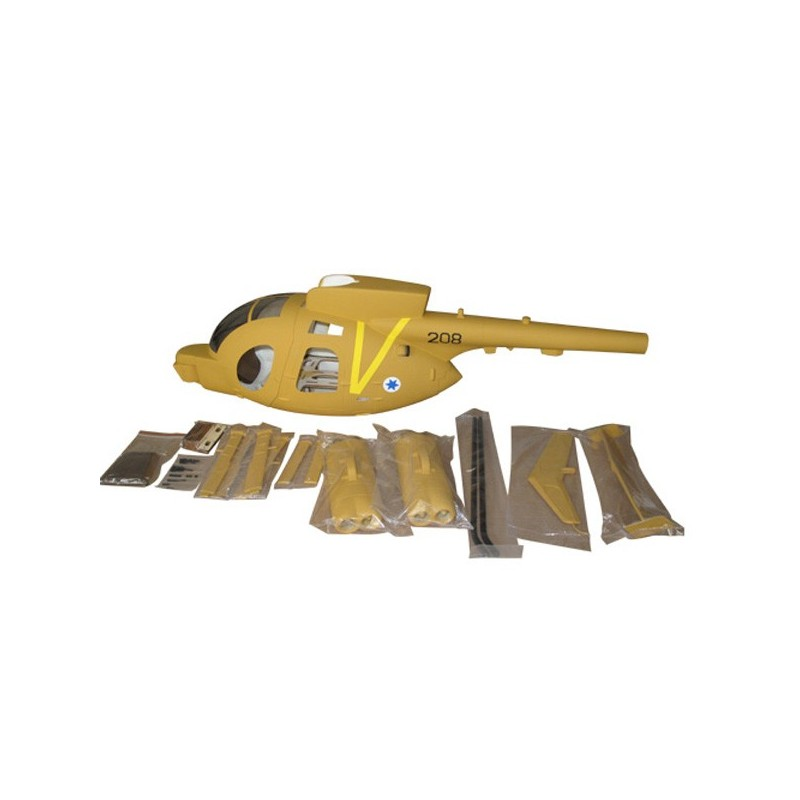 """Hugues MD500 """"Desert Army"""" 500 size"""
