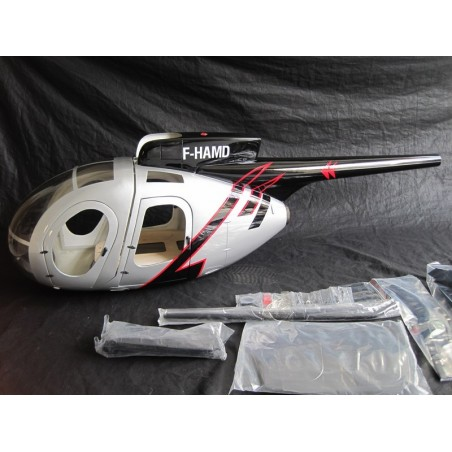 "Hugues MD500D ""Silver""  600 size"