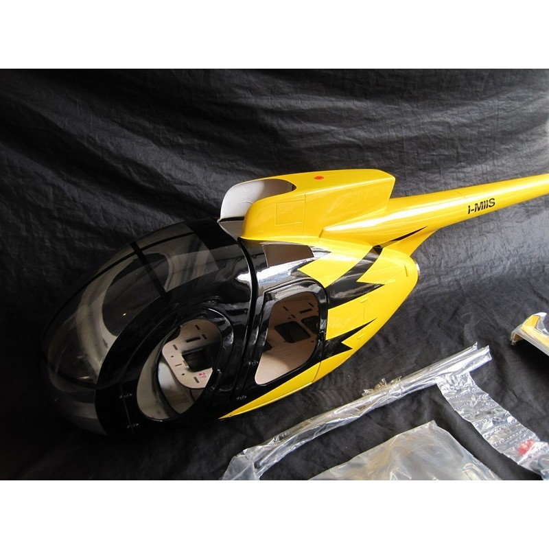 "Hugues MD500D ""Yellow""  600 size"