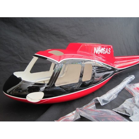 "AS-350 500 size  ""red/black"" Roban"