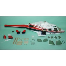"""Bell 222 """"Red"""" FUNKEY 700 size"""