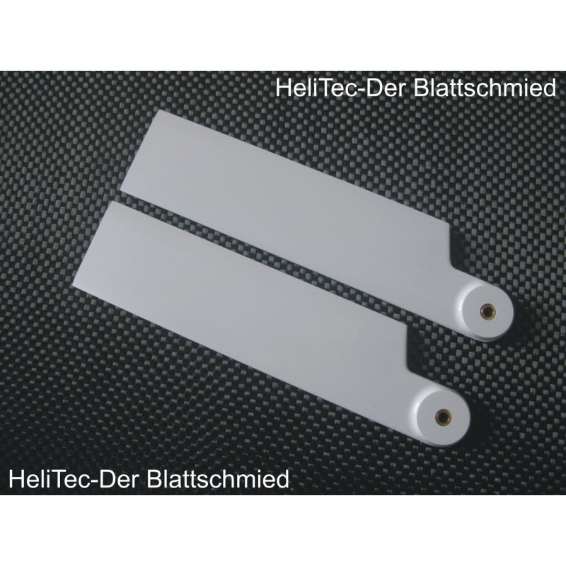 2 Helitec scale tail blades 95mm (left rotation)