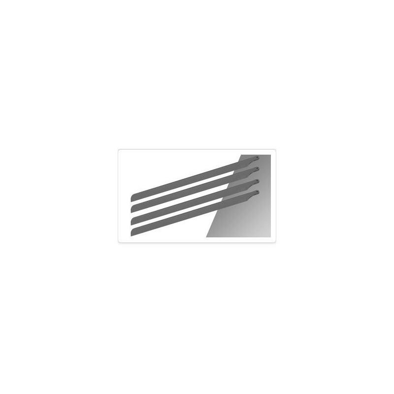 4 Scale Baldes SpinBlades for 600 size (600mn) grey