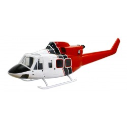 "Bell 412 Compactor 800 size ""White - Black - Red"""