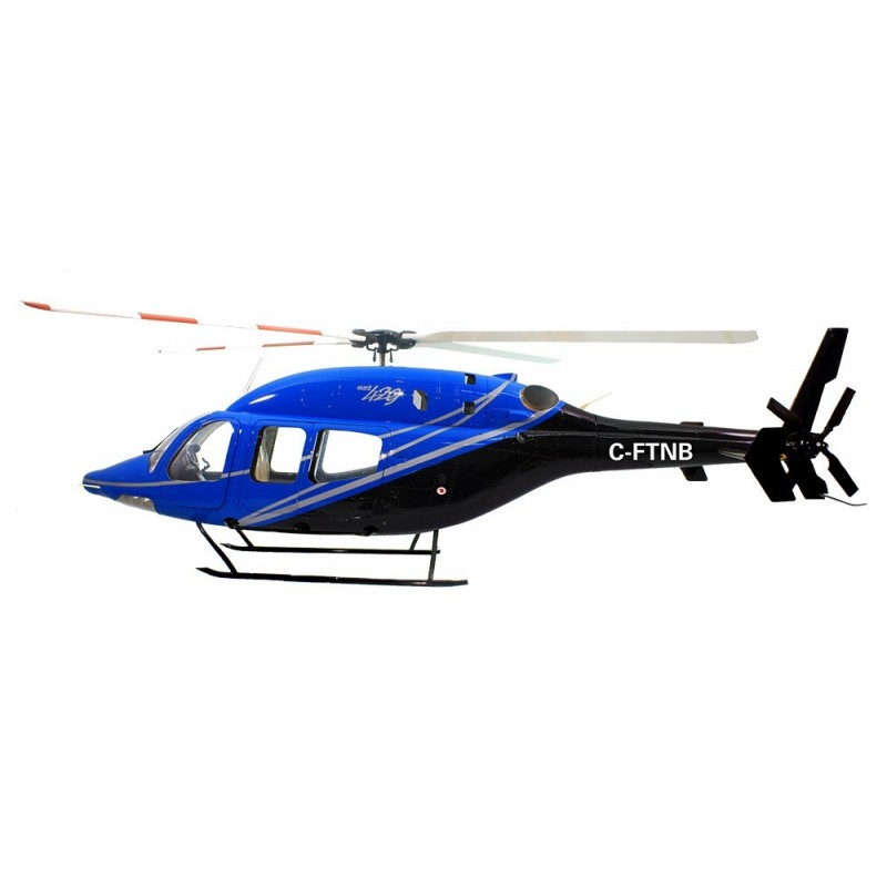 "Bell 429 compactor ""Black / Gold""  700 size"