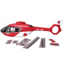 EC-135 Red painting 500 size