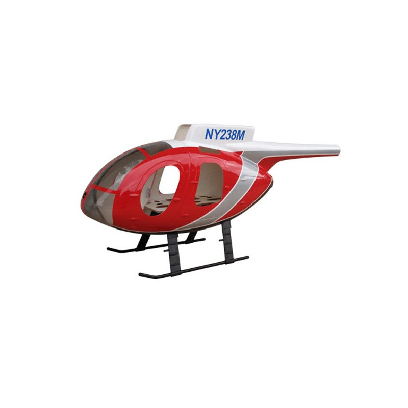 HUGHES 500E Police rouge classe 450