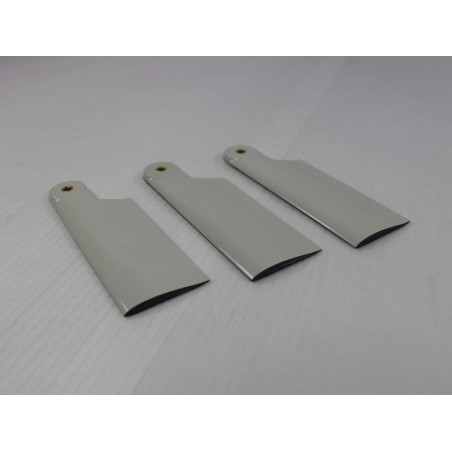 3 Helitec scale tail blades 85mm