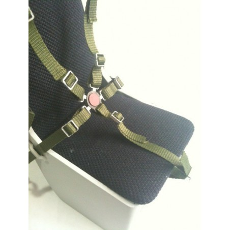 Scale 5-point harness seat