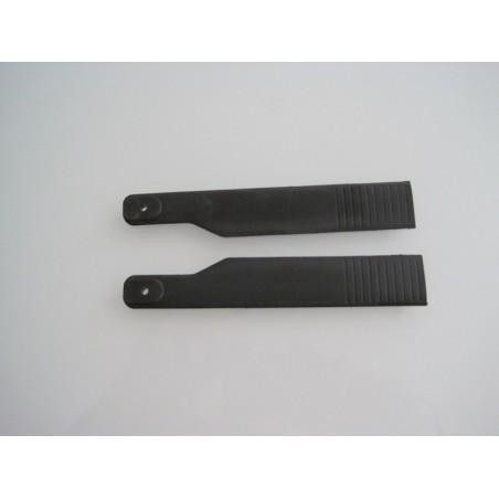 Set of 2 scale tail blades 700 to 800  (120mn)